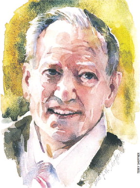 George Gilder sketch
